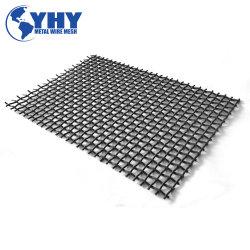 Rete metallica unita di vibrazione tessuta antisdrucciolevole resistente all'uso per estrazione mineraria