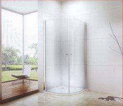 Moden Luxe Design frameloze ronde Badkamer eenvoudige Douche kamer met Schuifdeur openen (CK-8016)