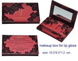 ペーパー化粧箱、リップパレット用メイクアップボックス