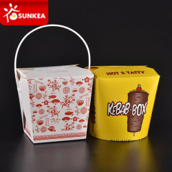 Les pâtes en papier jetables / boîte de nouilles chinoises