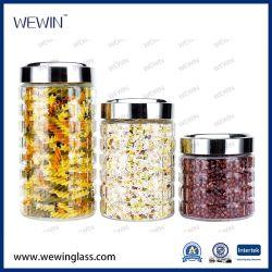 Set di vasetti di conservazione in vetro DA 3 PEZZI