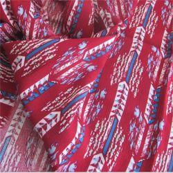 Trama de raiom viscose crepe de material para as mulheres vestidos