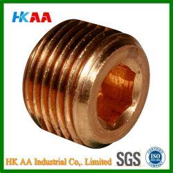 Конус гнезда мелкой метрической резьбой давление (медных) заглушки трубопроводов (DIN906M)