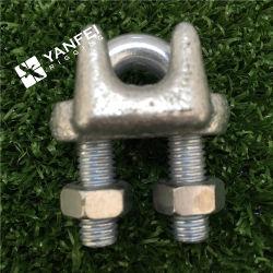 Tipo clip della fune metallica, morsetto dell'acciaio inossidabile JIS