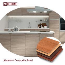В помещении используется алюминиевая композитная панель цвета Vein/Marble-Vein другого типа Или декоративное украшение наружной стены