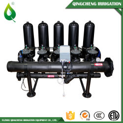 """Automatisches Wellengang-Filter-System mit 3 """" X4 Spaltölfilter für landwirtschaftliche Bewässerung"""