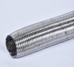 Manchon ss 304 tresse métallique / tresse métallique utilisé pour le flexible hydraulique / métal flexible pour le maintenir plus de pression