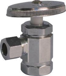 Angle de placage de chrome en laiton de vente chaude (J02)