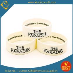 Logo gravé la couleur de remplissage personnalisés en silicone Bracelet Bracelet Bracelet &