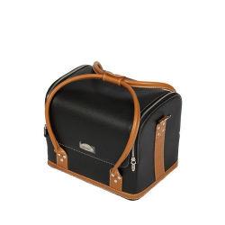 Bolsa de aseo de cuero de señoras la moda con Asa (HB-6651)