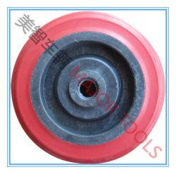 Boa qualidade de 4 polegadas de disco de plástico brinquedo de borracha da roda do carrinho 4*1,25
