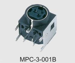 Mini connettore di potere di BACCANO (MPC-3-001B)