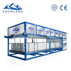 Ce pleinement approuvé de 10 tonnes de blocs de glace de la machine automatique de la Chine