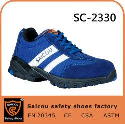 Синий Saicou обувь и Съемные стальные ноги колпачки для Обувь Вудленд обувь для мужчин SC-2330