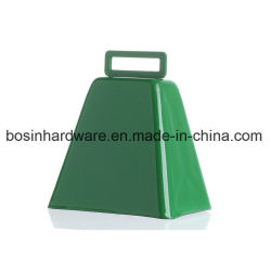 Vert vache métalliques personnalisées Bell