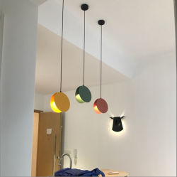 Si merveilleuse cuisine contemporaine de conception LED lampe pendante d'éclairage de la télécommande dans Multi-Color