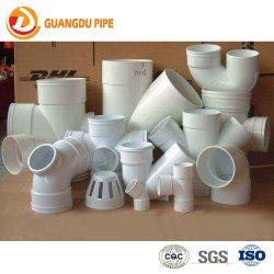 Accessori per tubi del connettore del T del gomito di drenaggio del PVC degli accessori del tubo del PVC del grande diametro