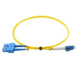 LC APCのコネクターの光ファイバパッチ・コードケーブルへの安い光ファイバパッチ・コード装置Sc