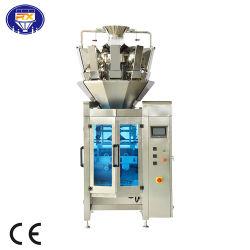 Automatische Nahrungsmittelimbiss-Startwert- für ZufallsgeneratorTiefkühlkost-Puder Multihead Wäger-Verpackungsmaschine