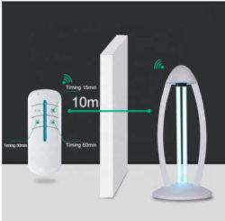 Hogar bactericida ultravioleta matar los ácaros del barrido de lámpara germicida UV UVC Higiene portátil compacto 38W de iluminación