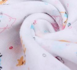 100% die organische Baumwolle Mutiple überlagert Gaze-Musselin-Kimono-Gewebe 40sx40s 150cm, 180cm, 220cm