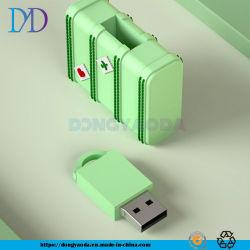 Mini Disco portátil de la personalidad U, bolsa de viaje de dibujos animados