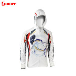 Aibort erstklassige Soem-Fabrik-spätestes Anti-Fuling Polyester-Fischen-Hemd (T-FS-50)