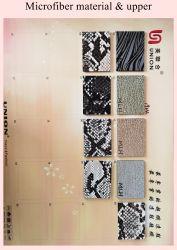 Шаблон тиснения 1,2 мм PU нейлон кожаная сумка из микроволокна материалов