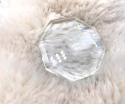 Ultra Beauty Makeup Tool Diamond/ Crystal Bandeja de cola