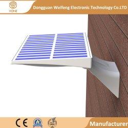 IP65 90 PCS 방수 LED 태양 운동 측정기 빛 옥외 거치된 안전 정원 벽 빛 LED 거리 태양 빛