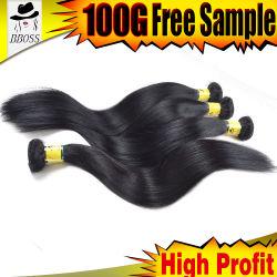 Категория 8А основная часть волос Бразилии прав соткать