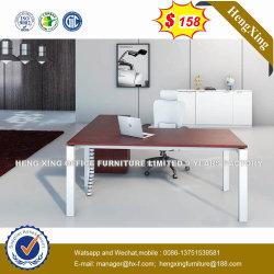 Moderner Art-Schreibtisch-Metallrahmen-leitende Stellung-Schreibtisch mit Schrank (HX-NJ5012)