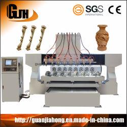 목공 기계, 다중 스핀들 4축 CNC 라우터, 3D CNC 인그레이빙 기계, CNC 목공예 기계