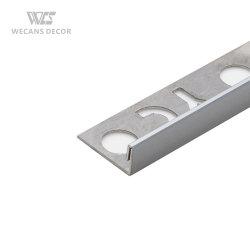 Дешевые L-угол хром металлический кузова керамический пол плиткой с переходной экономикой газа