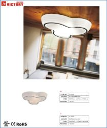 LED 현대 간단한 실내 장식적인 유리제 천장 램프
