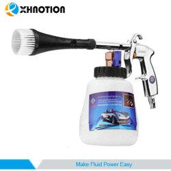 Xhnotion 자동 거품 전자총 분무기 물 먼지떨이