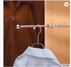 خزانة ثوب تركيبات مقصورة يسحب جهاز خارجا [فلت] [رود] خزانة ثوب سكّة حديديّة [كلوثس هنجر]