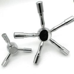 Venda quente Chrome 5 Falou Cofre alças para o Vault Porta ou Caixa de Segurança