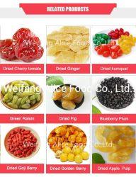 Jarabe de azúcar en la China conservas de frutas secas con Halal