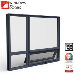 Customizable 고품질은 이중 유리를 끼운다 /UPVC/PVC 알루미늄 알루미늄에게 /Wood 유리제에게 차일 또는 여닫이 창 또는 미끄러지를 합금 문과 Windows (frameless Windows)의