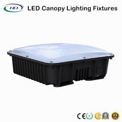 50W à LED de lumière de la canopée de la station de gaz d'éclairage