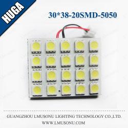 مصباح قراءة LED مقاس 30*38 مم 20 SMD 5050 للإضاءة التلقائية