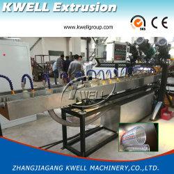 Fil d'acier en PVC renforcé de fibre gamme de machines d'Extrusion du tuyau flexible de décisions