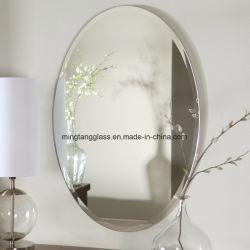 Specchio smussato dell'argento del bordo di buoni prezzi per la parete della decorazione