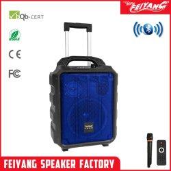 Handy DJ hi-fi 8 pouce de haut de la classe de guitare de haut-parleur audio portable Bluetooth SL08-10