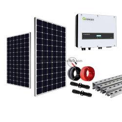 Na grelha com a energia do sistema de energia de alimentação do painel solar 10 Kw