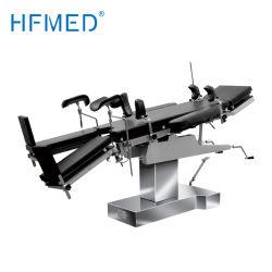 Total de 304 Acero Inoxidable suministros hospitalarios cama Manual Médico Universal mesa de operaciones (HFMH3008AB)