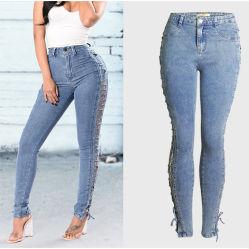 Llegan nuevos populares Jeans de señoras mayoristas