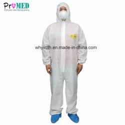 Vestiti industriali uniformi non tessuti a gettare