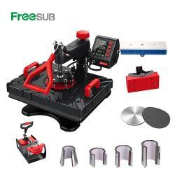 Freesub дешевые 11 в 1 Комбинированный нагрев пресс машины, кружки, футболку, крепежные пластины, нажмите кнопку нагрева машины